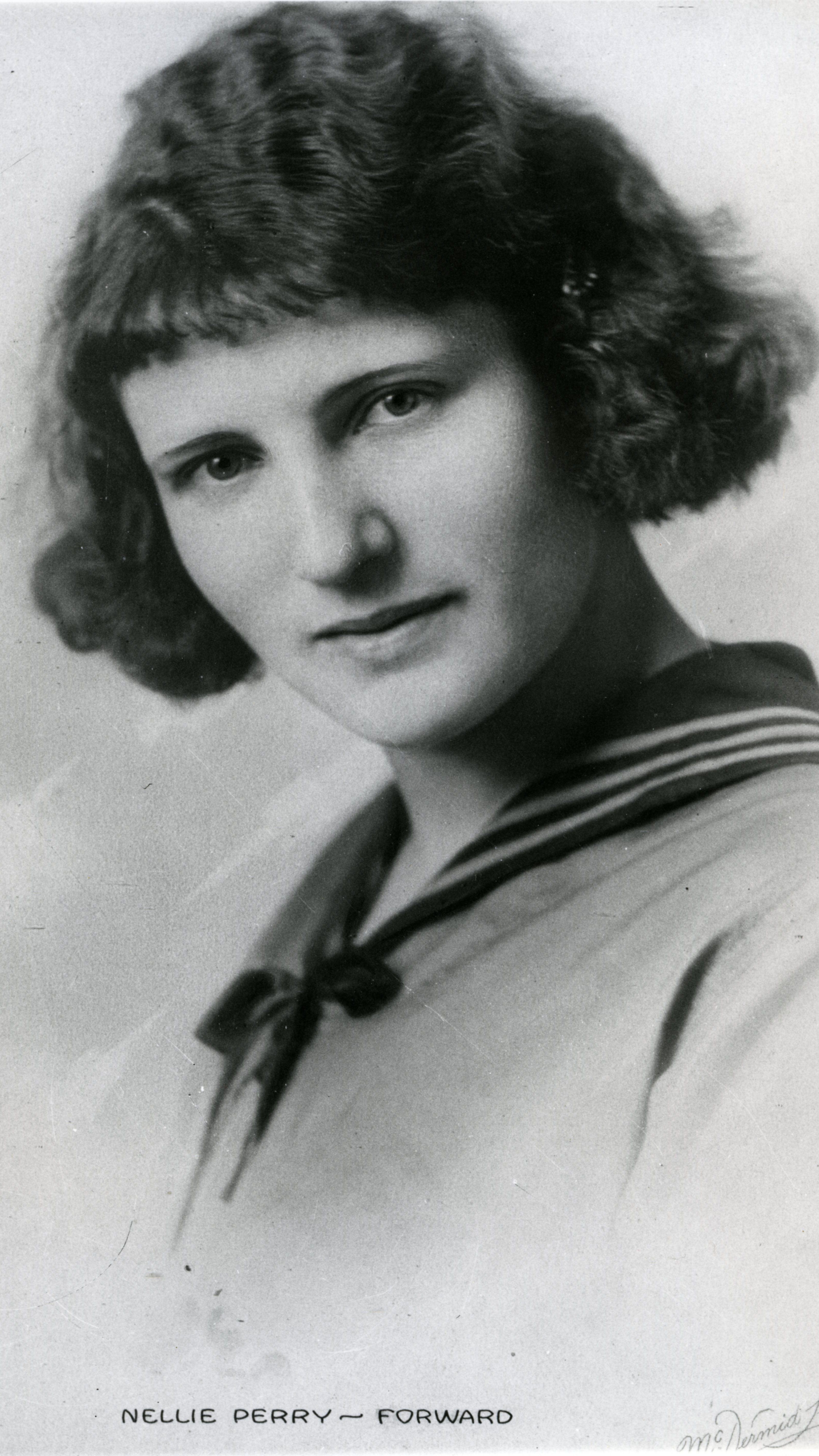 Hall of Famer NELLIE PERRY MCINTOSH